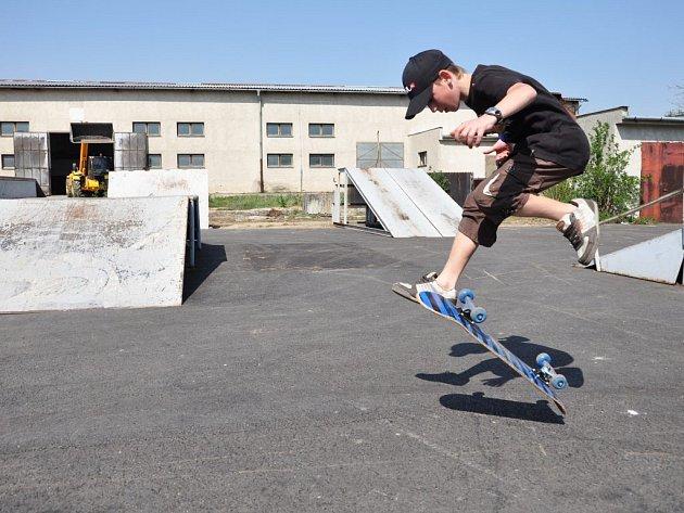Skatepark v Plumlově