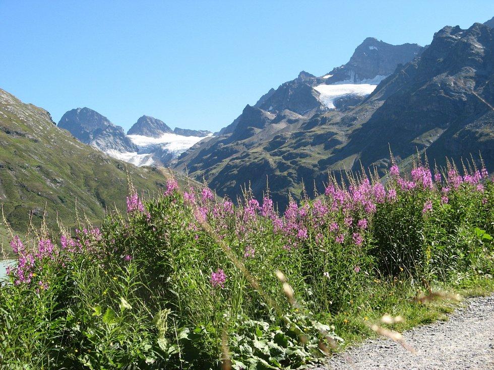 Alpy ve Vorarlbergu.