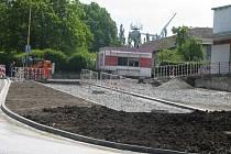 V Protivanově probíhá rekonstrukce náměstí