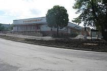 V Protivanově probíhá i rekonstrukce náměstí