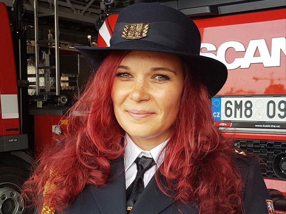 Lucie Balážová, mluvčí HZS Olomouckého kraje v otevřeném rozhovoru pro Deník.