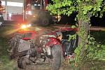 Nehoda fabie u Kostelce na Hané - 29. 4. 2020