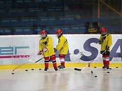 Malí Jestřábi v akci - trénink mladších žáků