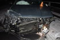Nehoda oktávky u Olšan u Prostějova - 18. ledna 2021