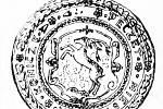1. Znak městečka Konice na pečeti ze 17. století.