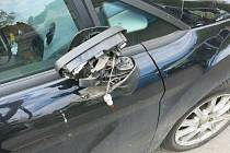 Nehoda chlapce na kole s fordem v Mostkovicích - 20. 5. 2021