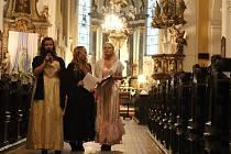 Prohlídky kostela Povýšení Sv. Kříže v Prostějově