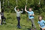 První pokoronavirový trénink absolvovaly děti ve skupině Over obstacles