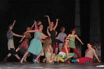 Vystoupení tanečního oboru prostějovské ZUŠ