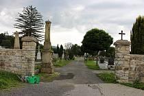 Hřbitov v Hranicích 23. července 2020