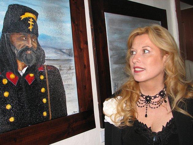 Podaří se malířce přesvědčit svého manžela, aby s ní žil na Hané?
