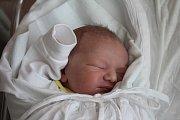 Dominik Hastík, Prostějov, narozen 18. srpna v Prostějově, míra 53 cm, váha 3400 g