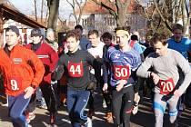Silvestrovský běh v Prostějově