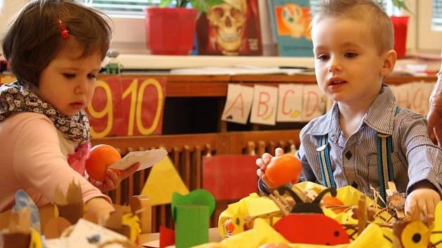 Zápis do mateřské školy v Partyzánské ulici v Prostějově