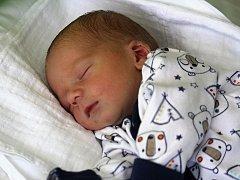 František Kolík, Konice, narozen 6. září v Prostějově, míra 49 cm, váha 3000 g