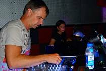 Pavel Kovář coby DJ Choruno