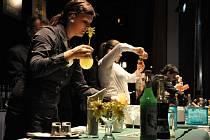 Barmani a barmanky v akci. Ilustrační foto