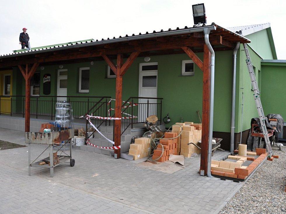 Rekonstrukce kulturního domu ve Smržicích.