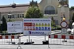 V centru Prostějova začala rekonstrukce stěžejní dopravní tepny, která potrvá až do konce prázdnin. 1.7. 2020