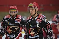 Prostějovští hokejisté. Ilustrační foto