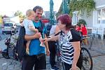Návštěva hodnotící komise soutěže Vesnice roku v Tištíně. 4. 9. 2019