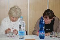 Členové volební komise v Plumlově