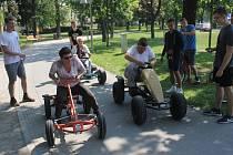 Akce Aktivní senior v prostějovských Kolářových sadech