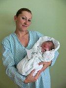 Jan Malý s maminkou Eliškou, Vojtěchov, narozen 8. července, 49 cm, 3250 g