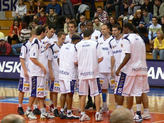 Prostějovští basketbalisté