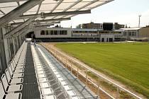 Třetiligový 1. SK Prostějov v sobotu 25. srpna přivítá Frýdek-Místek a diváci se mohou těšit i na novou tribunu, která pojme 460 sedicích diváků.