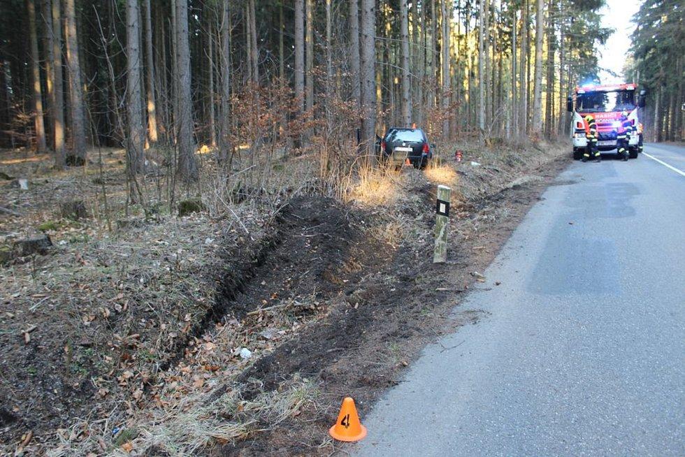 Nehoda golfu mezi Žďárnou a Protivanovem