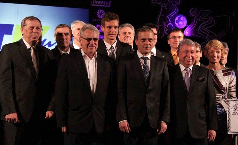 Předávání cen Sportovec Olomouckého kraje 2012