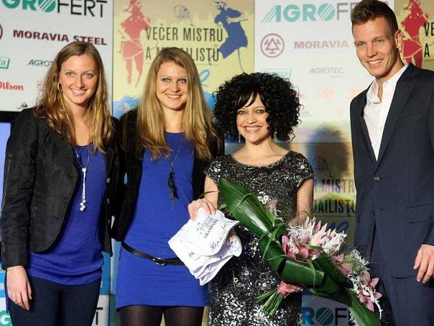 Tenisový Večer mistrů a medailistů v Prostějově