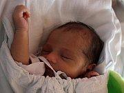 Alena Kapplová, Prostějov, narozena 24. května v Prostějově, míra 50 cm, váha 2850 g