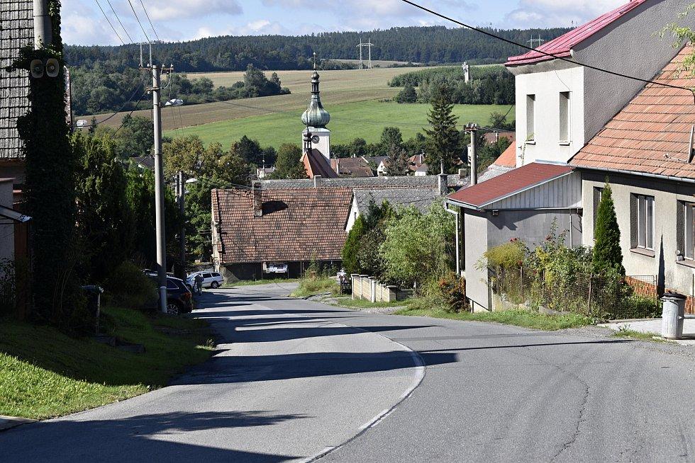 Ulice Zádvoří v Konici