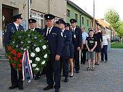 V Němčicích nad Hanou se uctilo výročí konce II. světové války.