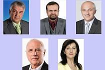 Kandidáti na senátora za Prostějovsko