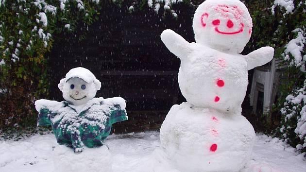 Sněhuláci Jany Dosedělové