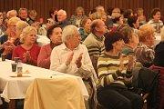 Svátek seniorů v prostějovském Společenském domě