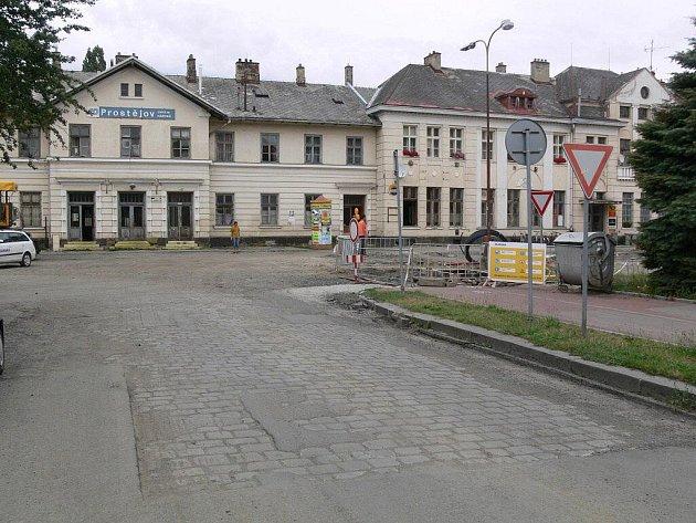 Rekonstrukce prostor u místního nádraží v Prostějově
