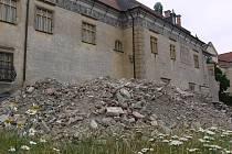 Rekonstrukce Pernštýnského zámku v Prostějově