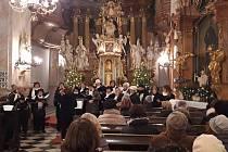 Sbor Vlastimila rozezněl chrámové zdi kostela U Milosrdných v Prostějově