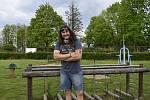Frontman kapely Traktor a tour promotér Partičky Martin Kapek