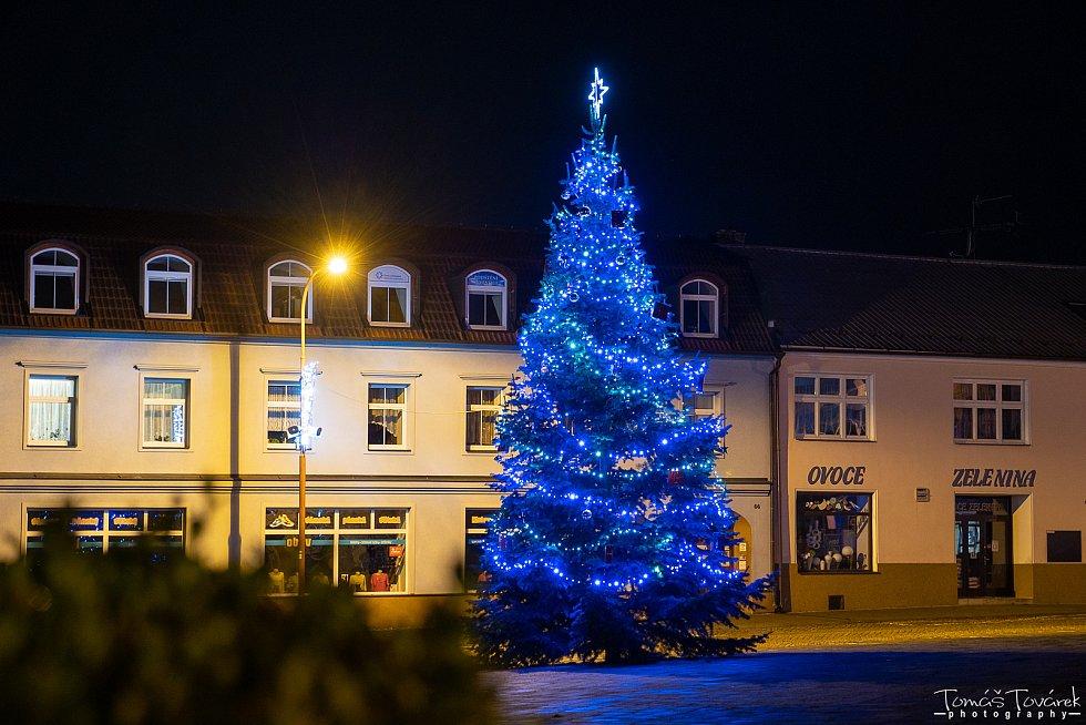 Vánoční strom 2020 v Konici