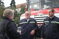 Dobrovolní hasiči z Kostelce na Hané