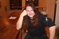 Frontman kapely Traktor Martin Kapek