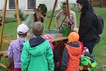 V Drahanovicích dětem ukázali jednotlivá povolání
