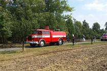 Bleskový zásah hasičů z Vrchoslavic