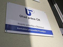 Úřad práce v Prostějově