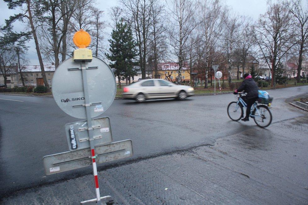 Dopravní uzavírky u Smržic a Čelechovic na Hané